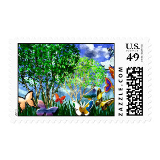 BUTTERFLY DANCE POSTAGE