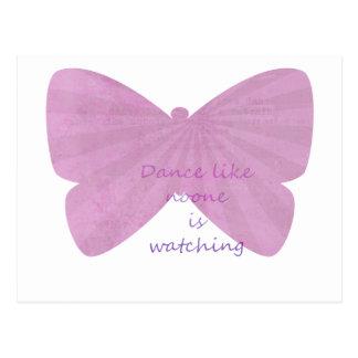 Butterfly Dance Postcard