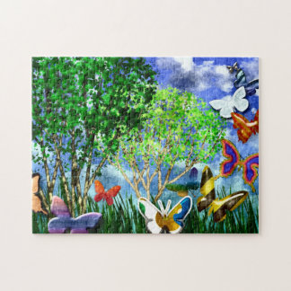 BUTTERFLY DANCE PUZZLE