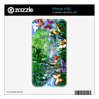 BUTTERFLY DANCE SKIN FOR THE iPhone 4S