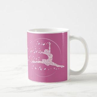 Butterfly Dancer Classic White Coffee Mug