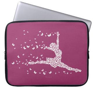 Butterfly Dancer Laptop Sleeve