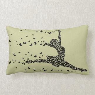 Butterfly Dancer Lumbar Pillow
