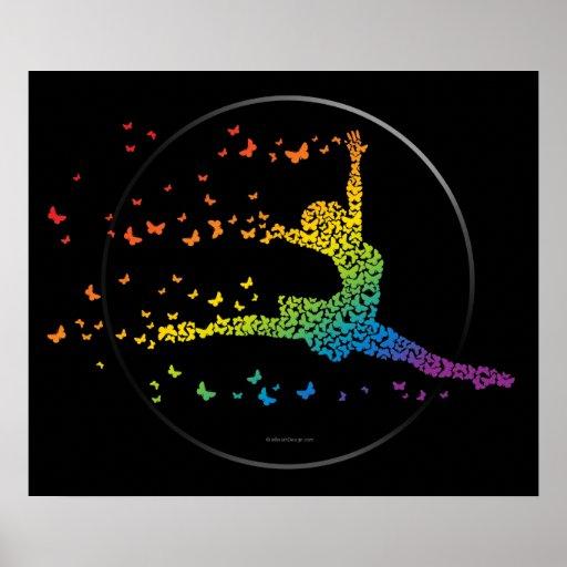 Butterfly Dancer Print