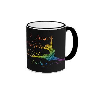 Butterfly Dancer Ringer Mug