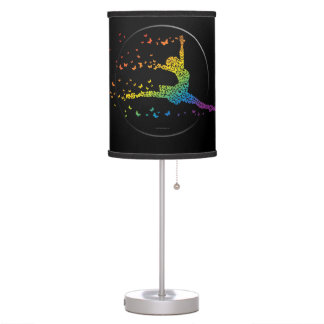 Butterfly Dancer Table Lamps