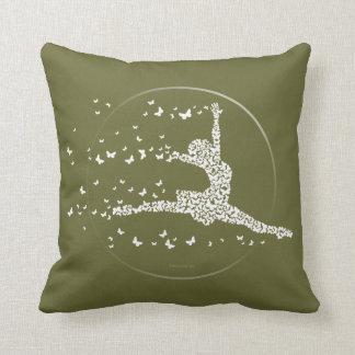 Butterfly Dancer Throw Pillow