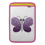 Butterfly Day of the Dead Design Sleeves For MacBook Air