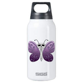 Butterfly Day of the Dead Design SIGG Thermo 0.3L Insulated Bottle