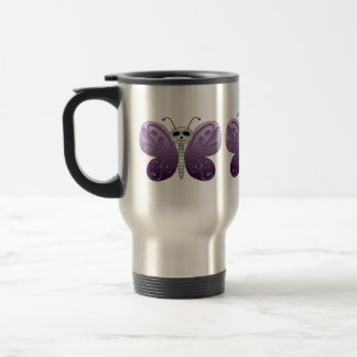 Butterfly Day of the Dead Design Travel Mug
