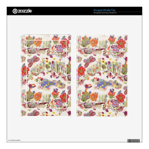 Butterfly Decal For Kindle Fire