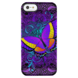 Butterfly Delight Clear iPhone SE/5/5s Case