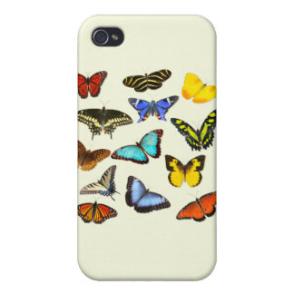 Butterfly Delight iPhone 4/4S Covers