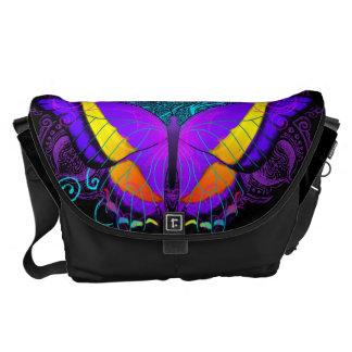 Butterfly Delight Large Messenger Bag