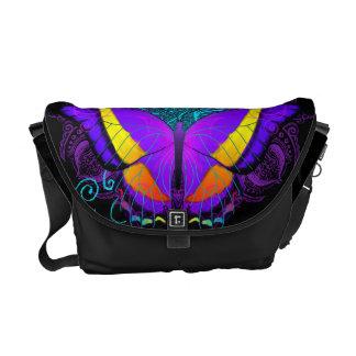 Butterfly Delight Medium Messenger Bag
