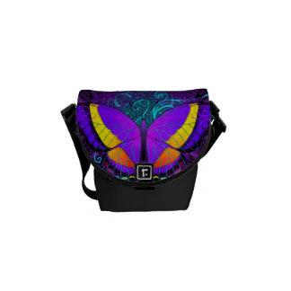 Butterfly Delight Messenger Bag