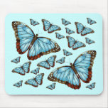 Butterfly Delight Mousepads