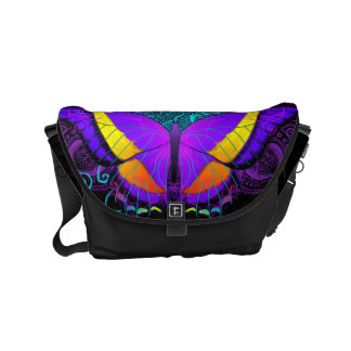 Butterfly Delight Small Messenger Bag