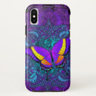 Butterfly Delight Tough iPhone X Case
