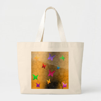 Butterfly Design Canvas Bags