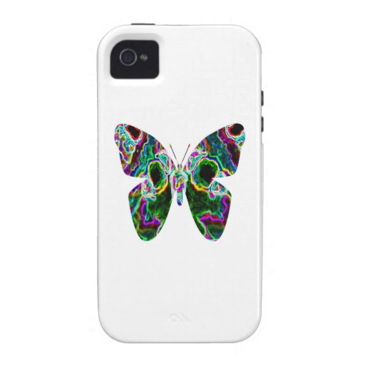 BUTTERFLY Design by Navin iPhone 4 Cases