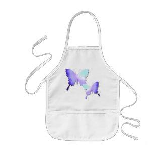 Butterfly Design Children's Smock Kids' Apron