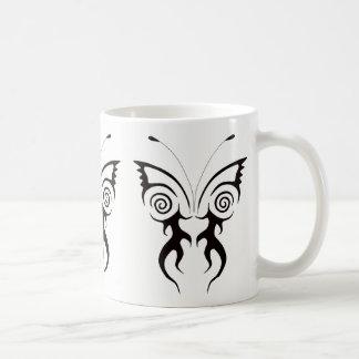 BUTTERFLY DESIGN COFFEE MUG TATTOO ART PRINT