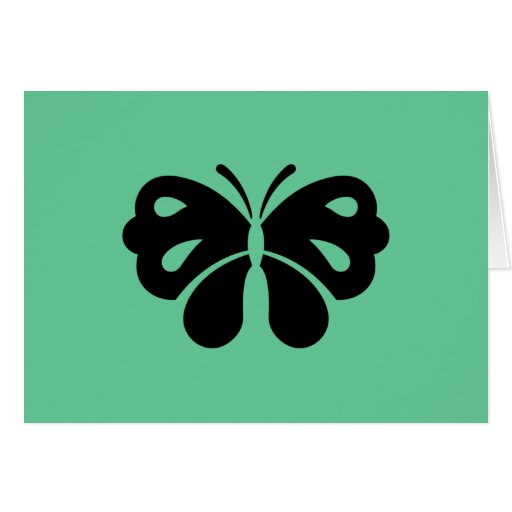 Butterfly Design Greeting Cards