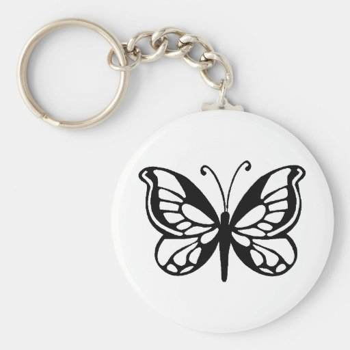butterfly design key chains