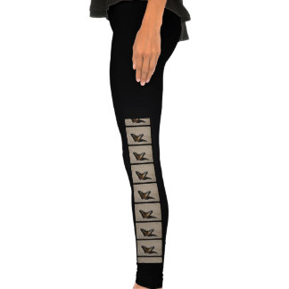 Butterfly Design Legging Tights
