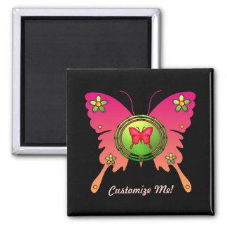 Butterfly Design Fridge Magnets