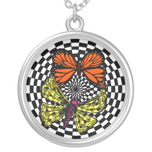 BUTTERFLY  DESIGN   NECKLACE