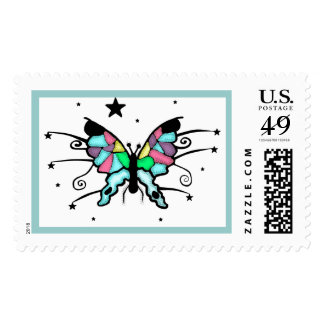 Butterfly Design Postage