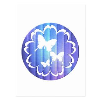 Butterfly Design Postcard