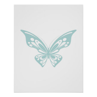 Butterfly Design Poster - Wall Decor