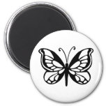 butterfly design refrigerator magnets