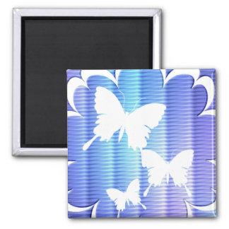 Butterfly Design Square Magnet Fridge Magnets