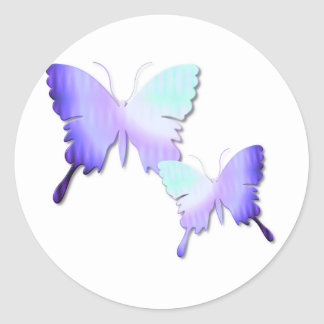 Butterfly Design Stickers