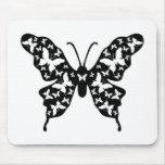 Butterfly Designer Ornamental Art Mouse Pad