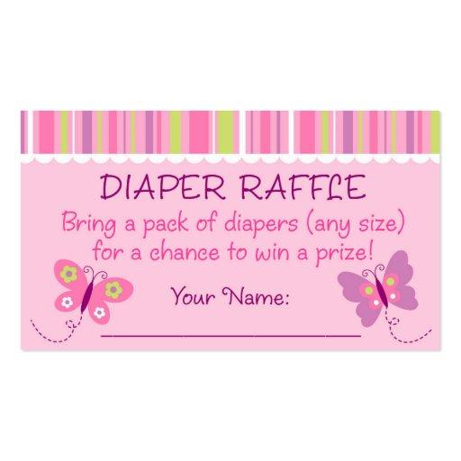 raffle card template