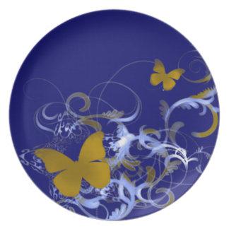 Butterfly Dinner Plate