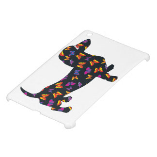 Butterfly Doxie Dachshund Case For The iPad Mini