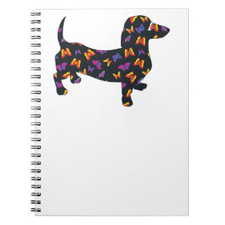 Butterfly Doxie Dachshund Notebook