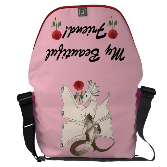 Erfly Dragon Messenger Bag