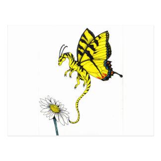 Butterfly Dragon Postcard