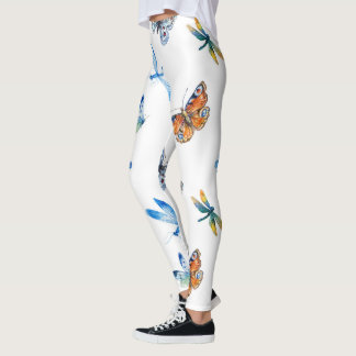 Butterfly Dragonfly Legging