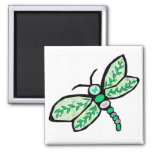 Butterfly Dragonfly magnet