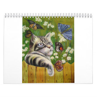 butterfly dream calendar