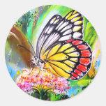 Butterfly Dream Classic Round Sticker
