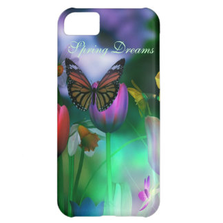 Butterfly dream garden iPhone 5C case